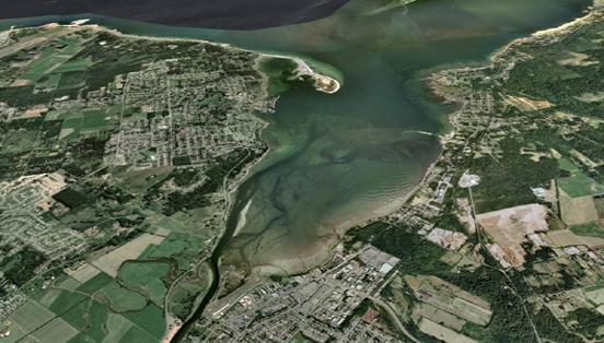 aerial estuary
