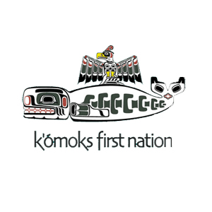 K ómoks First Nation logo