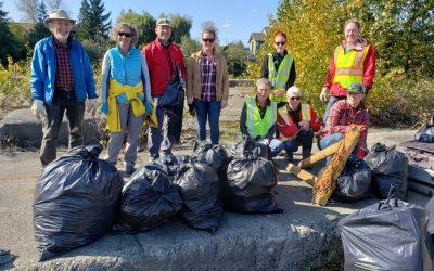 Kus-kus-sum/Hollyhock Flats Shoreline Cleanup 2020