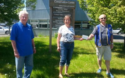 Lions Club donates $600 to Project Watershed