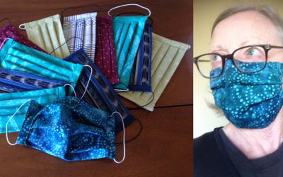 Quality Hand Made Cotton Masks for Kus-kus-sum!