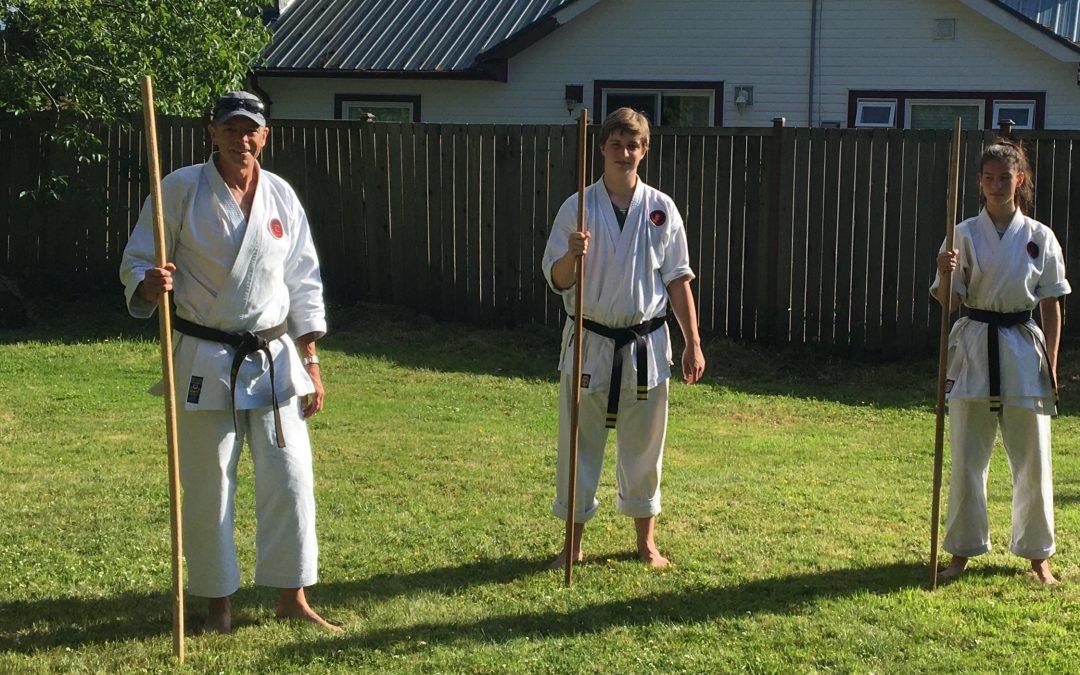 Karate is helping unpave paradise at Kus-kus-sum